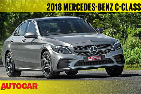 2018 Mercedes-Benz C 300d India video review