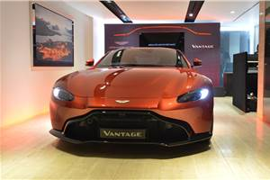2018 Aston Martin Vantage launched at Rs 2.95 crore