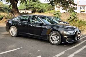 All-new Audi A6 spied in India