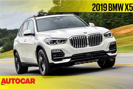 2019 BMW X5 video review