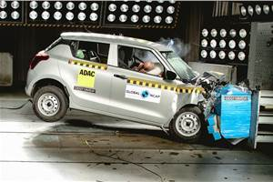 Maruti Suzuki Swift scores two stars in Global NCAP crash test