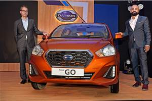 Updated Datsun Go and Go+ launched in India