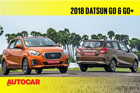 2018 Datsun Go, Go+ video review