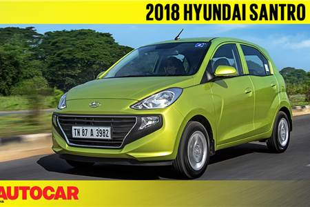 2018 Hyundai Santro video review