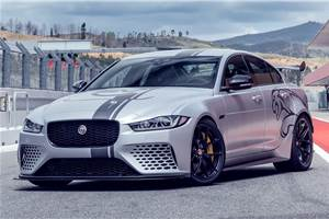 Jaguar XE facelift in the works