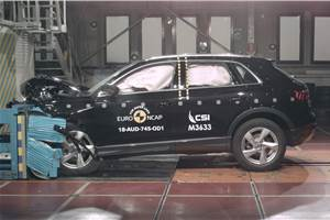 New Audi Q3 scores five stars in Global NCAP test