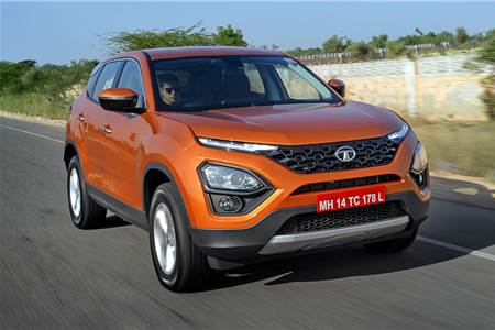 2019 Tata Harrier review, test drive