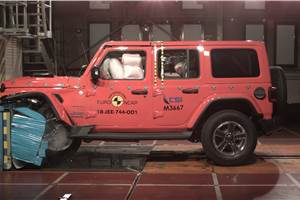 New-gen Jeep Wrangler gets one-star Euro NCAP rating