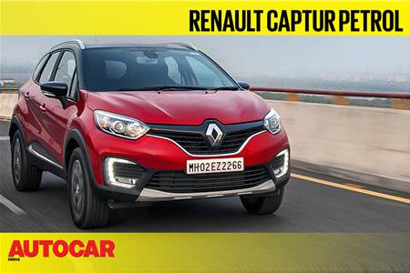 Renault Captur petrol video review