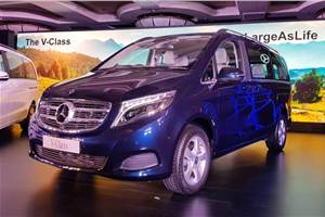 Mercedes-Benz V-class launched in India, priced at Rs 68.40 lakh