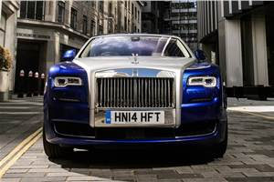 Next-gen Rolls-Royce Ghost takes shape