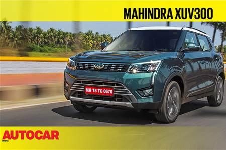 2019 Mahindra XUV300 video review