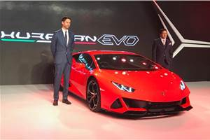 Lamborghini Huracan Evo launched in India, priced at Rs 3.73 crore