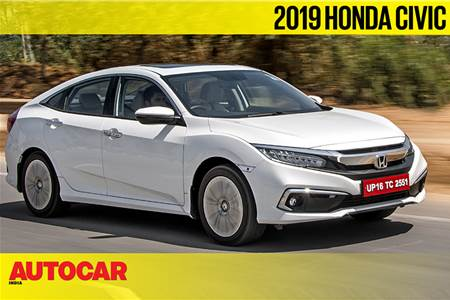 2019 Honda Civic India video review