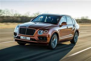 Bentley Bentayga Speed claims world's fastest SUV title