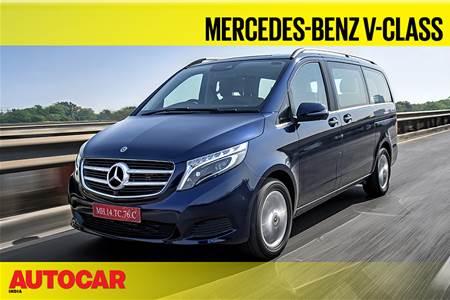 2019 Mercedes-Benz V-Class video review