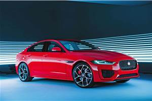 Jaguar XE facelift revealed