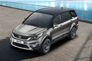 Refreshed Tata Hexa launched at Rs 12.99 lakh