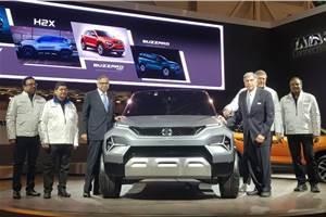 Tata H2X Concept revealed; previews Hornbill micro-SUV
