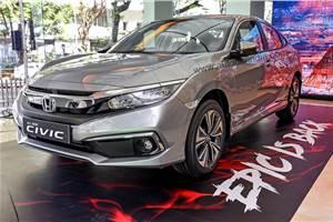 2019 Honda Civic receives 1,100 bookings