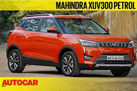 2019 Mahindra XUV300 petrol video review