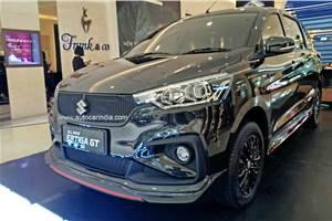 Suzuki Ertiga GT first pictures out