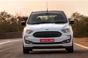 Ford Aspire Titanium Blu in the works