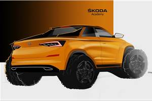 Skoda Kodiaq-based pickup concept in the works