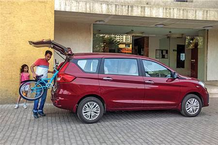 2019 Maruti Suzuki Ertiga long term review, first report