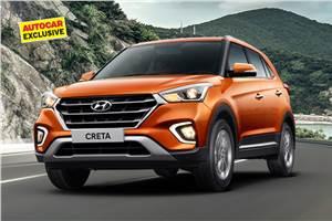 Hyundai Creta EX priced from Rs 10.84 lakh