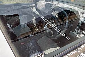 New Hyundai Grand i10 interior spied