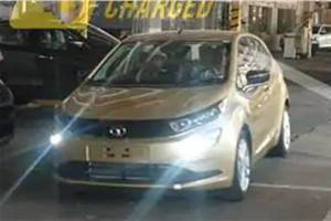 Tata Altroz production version spied in India