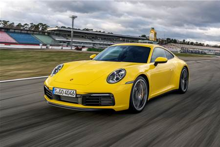 2019 Porsche 911 Carrera S review, track drive
