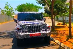 Next-gen Mahindra Thar likely to be unveiled at Auto Expo 2020