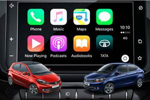 Tata Tiago, Tigor get Apple CarPlay