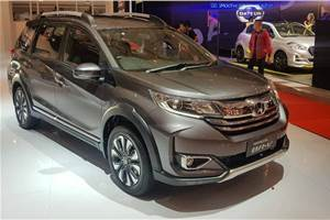 Honda BR-V facelift revealed