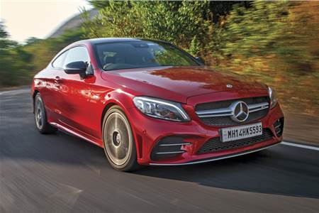 2019 Mercedes-AMG C 43 Coupe review, test drive