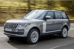 Range Rover with Ingenium straight-six petrol engine revealed