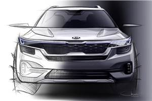 Kia SP SUV first sketches released
