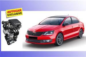 Skoda Rapid to get 1.0-litre TSI petrol engine with DSG transmission