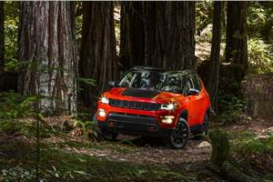 Jeep Compass Trailhawk for India to miss signature red tow hooks