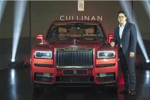 Rolls-Royce Cullinan showcased in Chennai