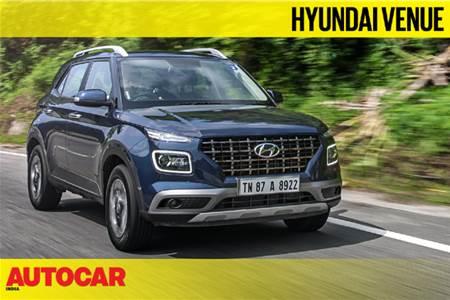 2019 Hyundai Venue 1.0 turbo-petrol MT video review
