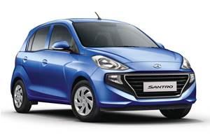 Hyundai rejigs Santro line-up