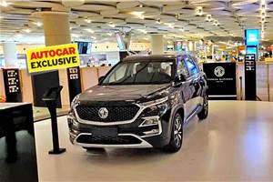 MG Motor India dealership locations revealed