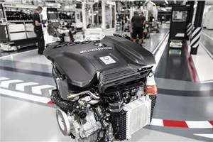 Mercedes-AMG reveals world's most powerful four-cylinder engine