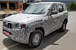 All-new Mahindra Scorpio design details revealed via new spy shots