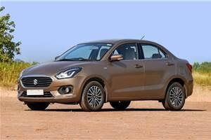 Maruti Suzuki Dzire price hiked with safety and emissions update