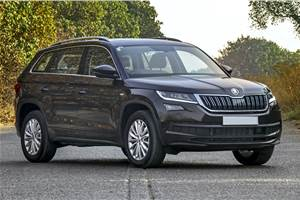 Skoda Kodiaq facelift in the works