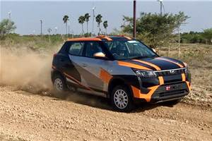 Rally-spec Mahindra XUV300 revealed